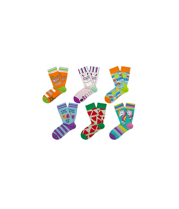 Two Left Feet Kids Socks 48PC Unit