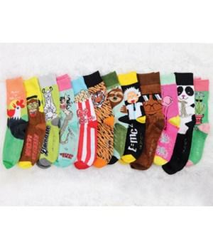 Super Soft! Socks 48PC