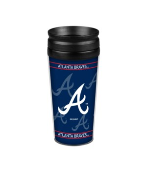 ACRYLIC TRAVEL MUG - ATL BRAVES