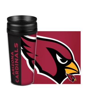 ACRYLIC TRAVEL MUG - ARIZ CARDINALS