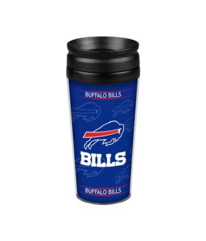 ACRYLIC TRAVEL MUG - BUFF BILLS