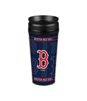 ACRYLIC TRAVEL MUG - BOS RED SOX
