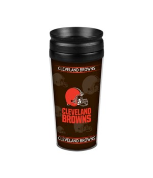 ACRYLIC TRAVEL MUG - CLEV BROWNS
