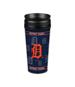 ACRYLIC TRAVEL MUG - DET TIGERS