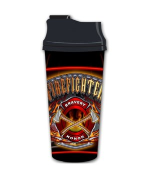 Firefighter # 1 Acrylic Travel mug