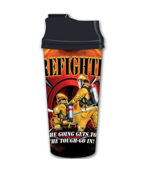 Firefighter # 2 Acrylic Travel Mug