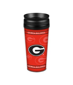 ACRYLIC TRAVEL MUG - GEORGIA BULLDOGS
