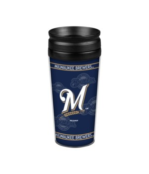 ACRYLIC TRAVEL MUG - MIL BREWERS