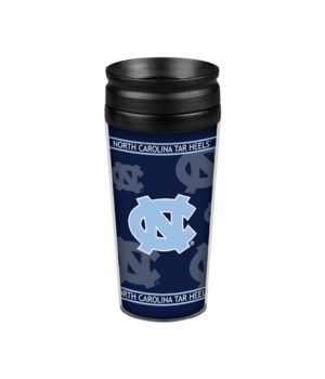 ACRYLIC TRAVEL MUG - NC TARHEELS