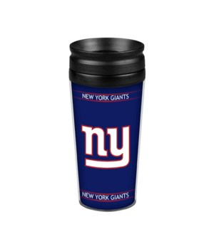 ACRYLIC TRAVEL MUG - NY GIANTS