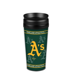 ACRYLIC TRAVEL MUG - OAK A'S