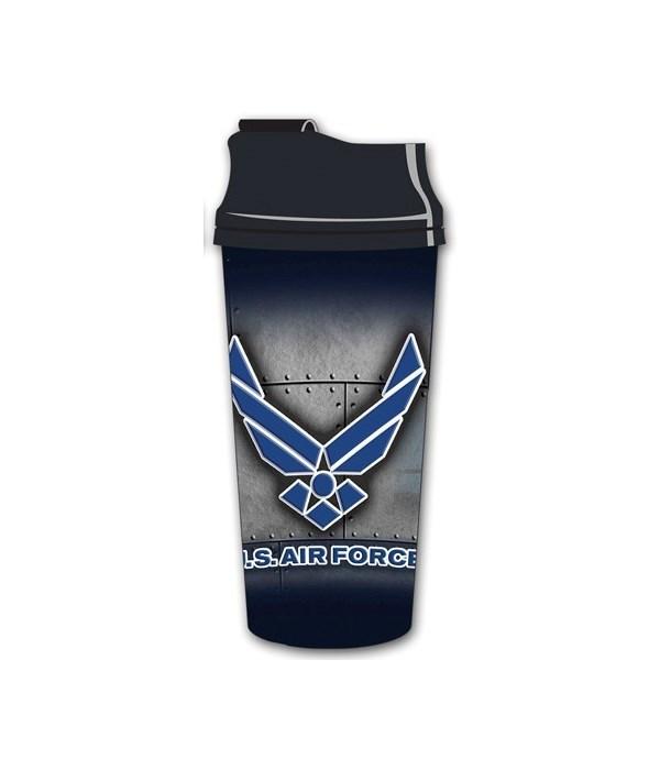 US Air Force Acrylic Travel Mug