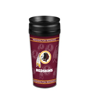 ACRYLIC TRAVEL MUG - WASH REDSKINS