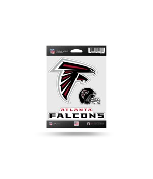 TRIPLE SPIRIT STICKER - ATL FALCONS