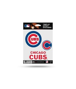 TRIPLE SPIRIT STICKER - CHIC CUBS