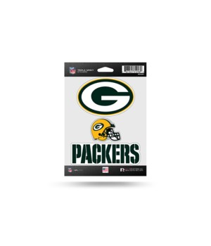 TRIPLE SPIRIT STICKER - GREEN BAY PACKER