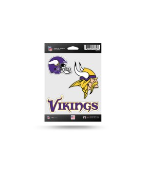 TRIPLE SPIRIT STICKER - MINN VIKINGS