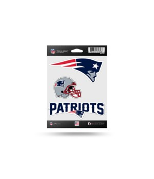 TRIPLE SPIRIT STICKER - NE PATRIOTS