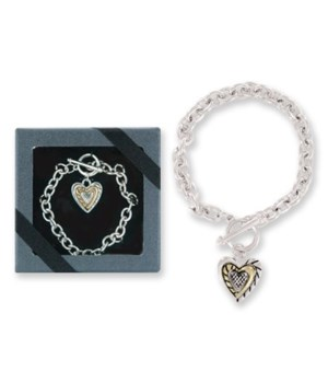 *Tender Charm Toggle Bracelet 6PC