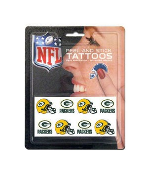 TEMP TATTOO - GREEN BAY PACKERS