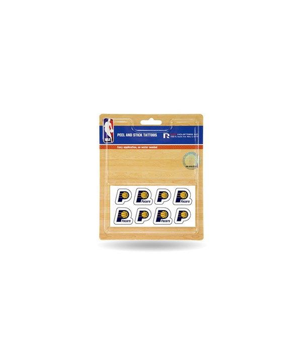 TEMP TATTOO - INDIANA PACERS