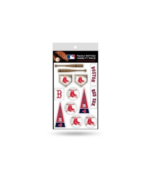 TATTOO VARIETY PACK - BOS RED SOX
