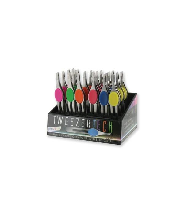 No-Slip-Grip Tweezers 24PC