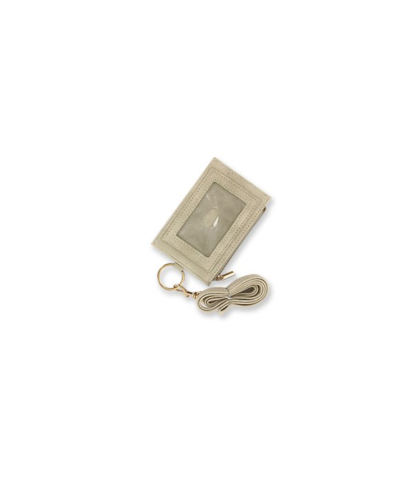 Ivory Zippered ID Lanyard 4PC