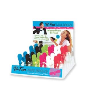 U-Fan Mini-Breeze Hot Colors 24PC