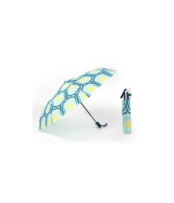 Geometric B/G/Y Compact Umbrellas 3PC