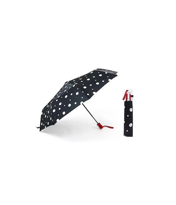 Polka Dot Compact Umbrellas 3PC