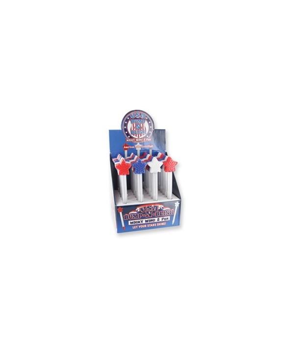 USA Bump-n-Blink Wand & Pen 24PC