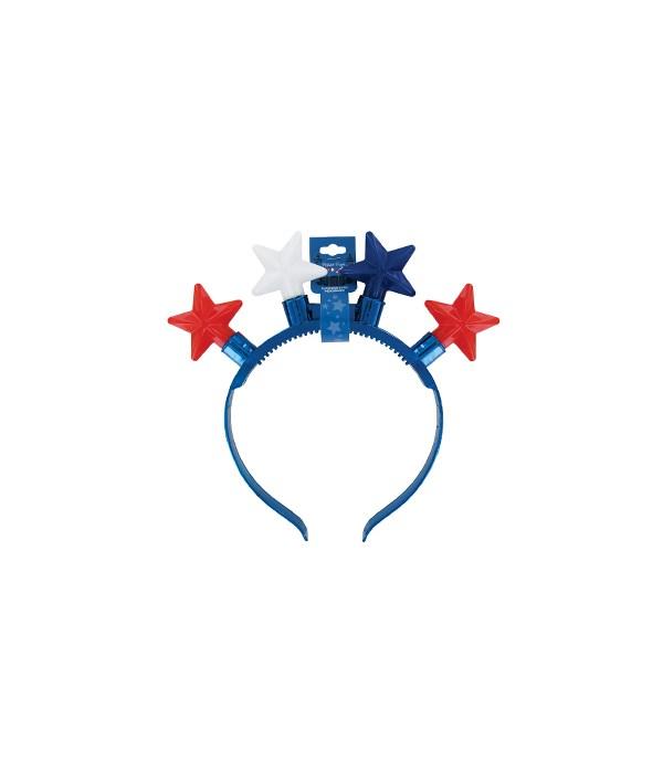 JUMBO Flashing Star Headband 24PC