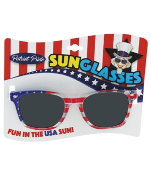 USA Mirrored Sunglasses 24PC