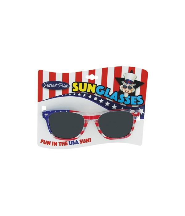 USA Mirrored Sunglasses 24PC