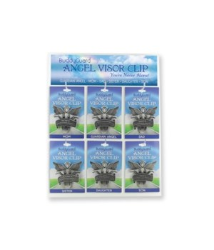 DISPLAY FOR ANGEL VISOR CLIP