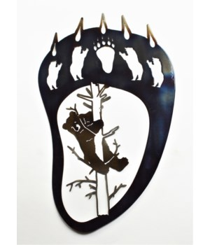 "Bear Claw Wall Art 18"" Wall Art"
