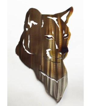 "Cougar Head Wall Art 18"" Wall Art"