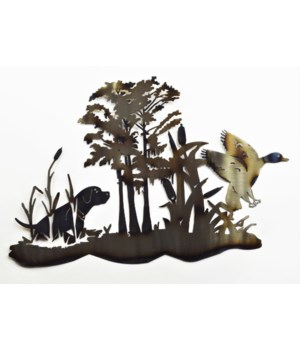"Dog & Duck Wetlands 18"" Wall Art"