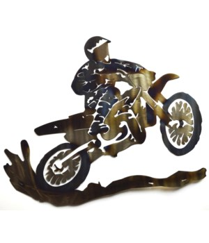"Dirt Bike 18"" Wall Art"