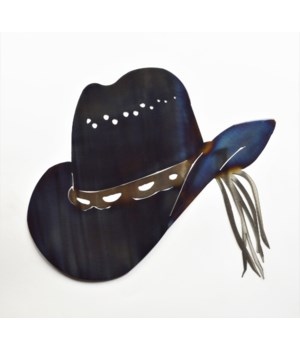 "COWBOY HAT 18"" Wall Art"