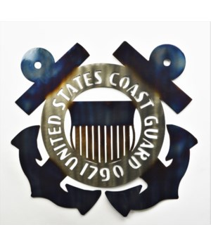 "COAST GUARD 18"" Wall Art"