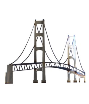 "Mackinac Bridge 18"" Wall Art"