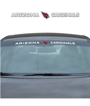WINDSHIELD DECAL - ARIZ CARDINALS