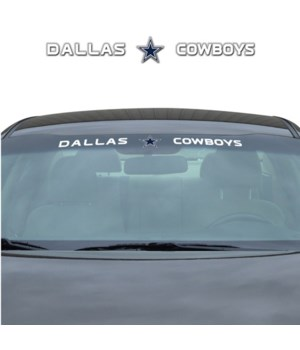 WINDSHIELD DECAL - DAL COWBOYS