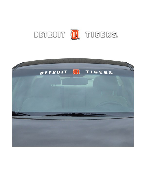 WINDSHIELD DECAL - DET TIGERS