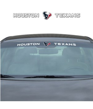 WINDSHIELD DECAL - HOU TEXANS