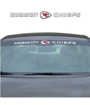 Kansas City Chiefs Windshield Decal