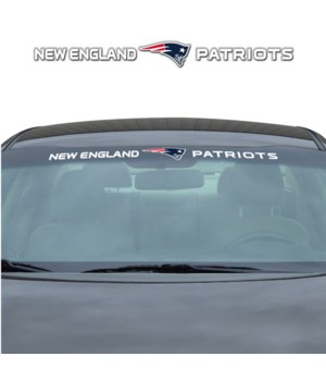 WINDSHIELD DECAL - NE PATRIOTS