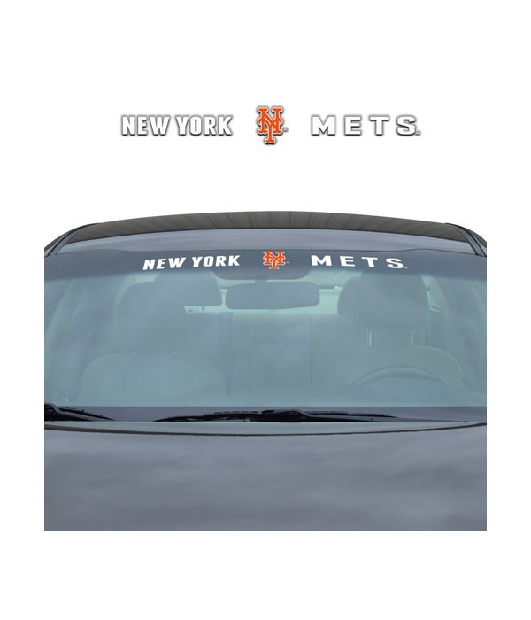 WINDSHIELD DECAL - NY METS